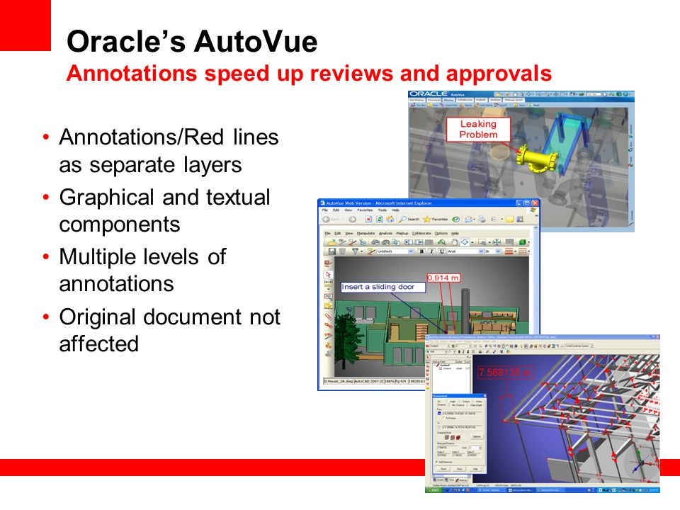 Oracle's AutoVue Annotations speed up reviews and approvals