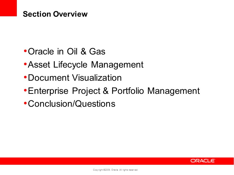 Asset Lifecycle Management Document Visualization