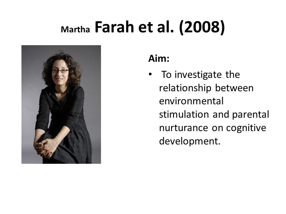 Martha Farah et al.