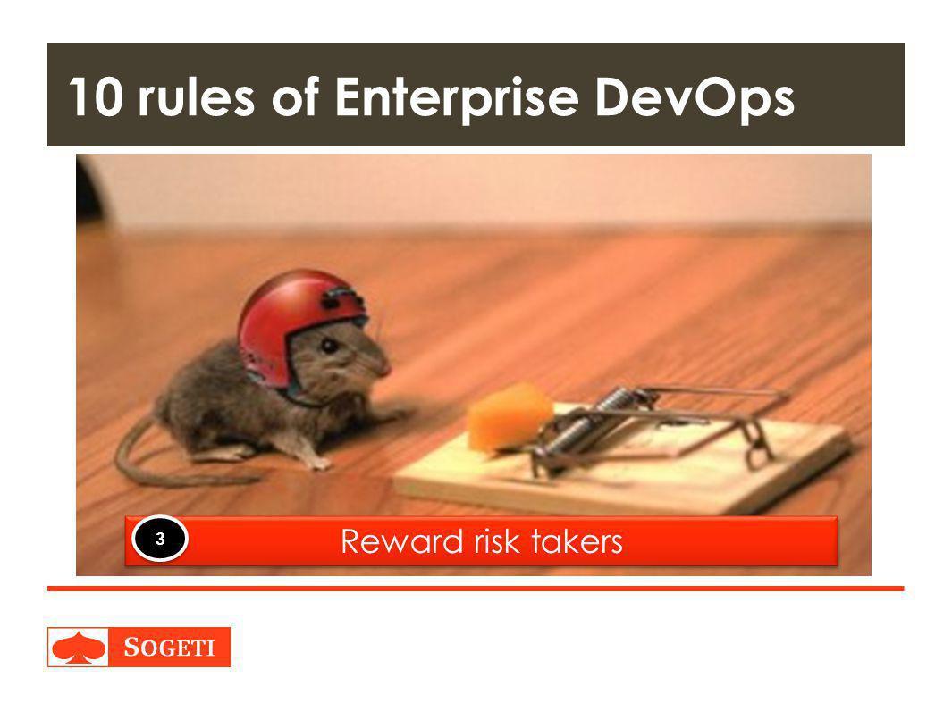10 rules of Enterprise DevOps