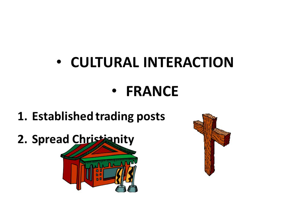 CULTURAL INTERACTION FRANCE