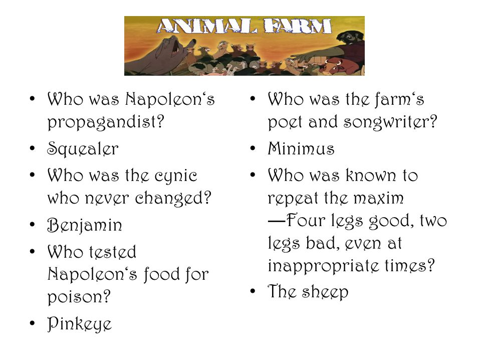 Who was Napoleon's propagandist