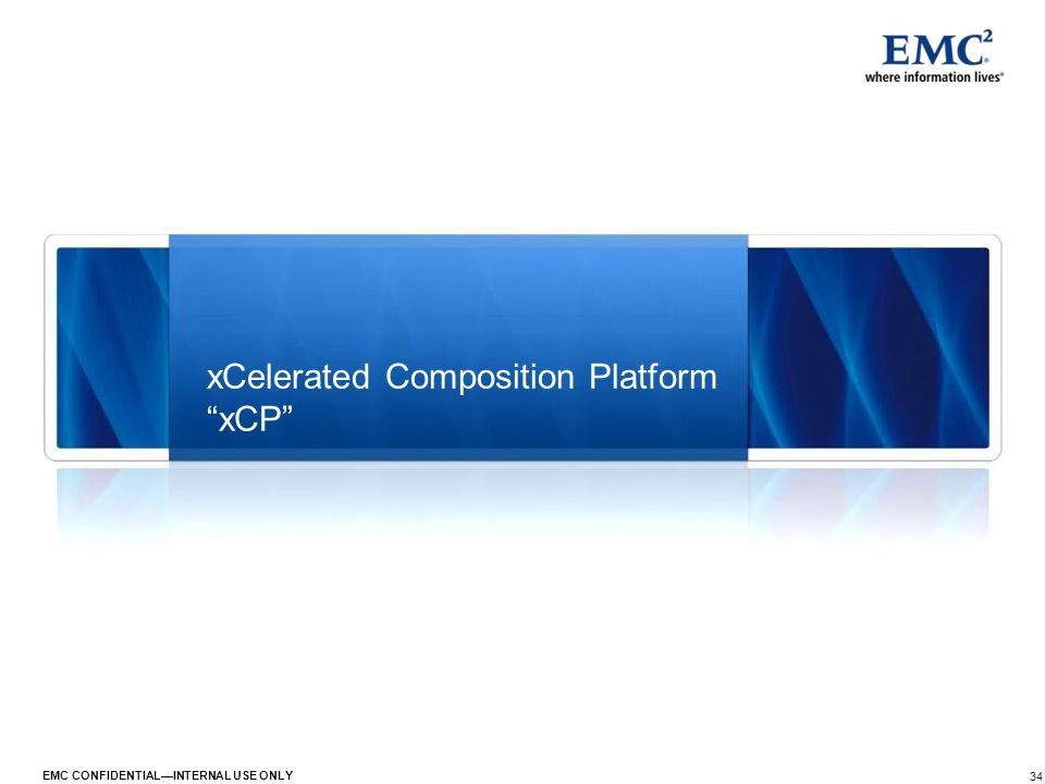 xCelerated Composition Platform xCP