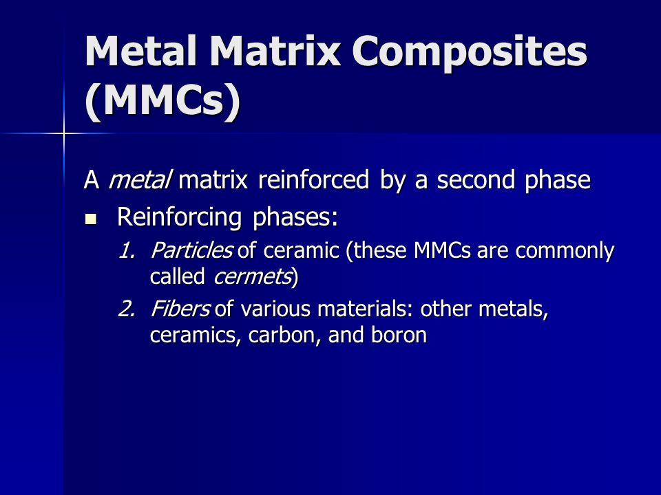 Metal Matrix Composites (MMCs)