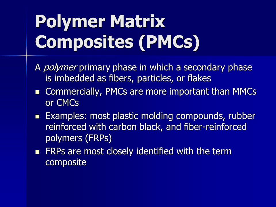 Polymer Matrix Composites (PMCs)
