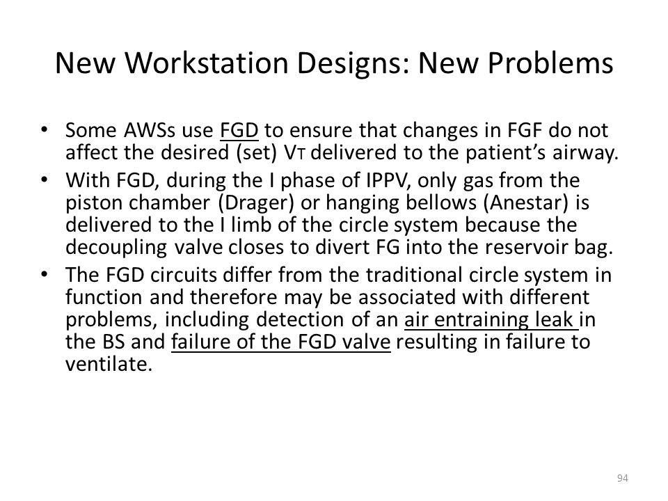 New Workstation Designs: New Problems