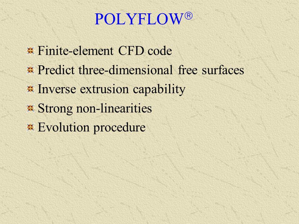 POLYFLOW Finite-element CFD code