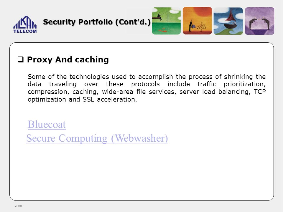Security Portfolio (Cont'd.)
