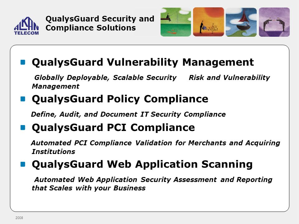 QualysGuard Security and Compliance Solutions