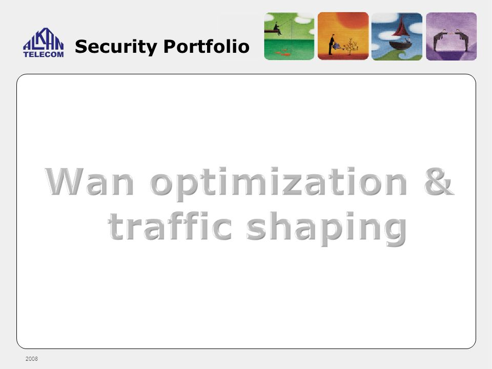 Wan optimization & traffic shaping