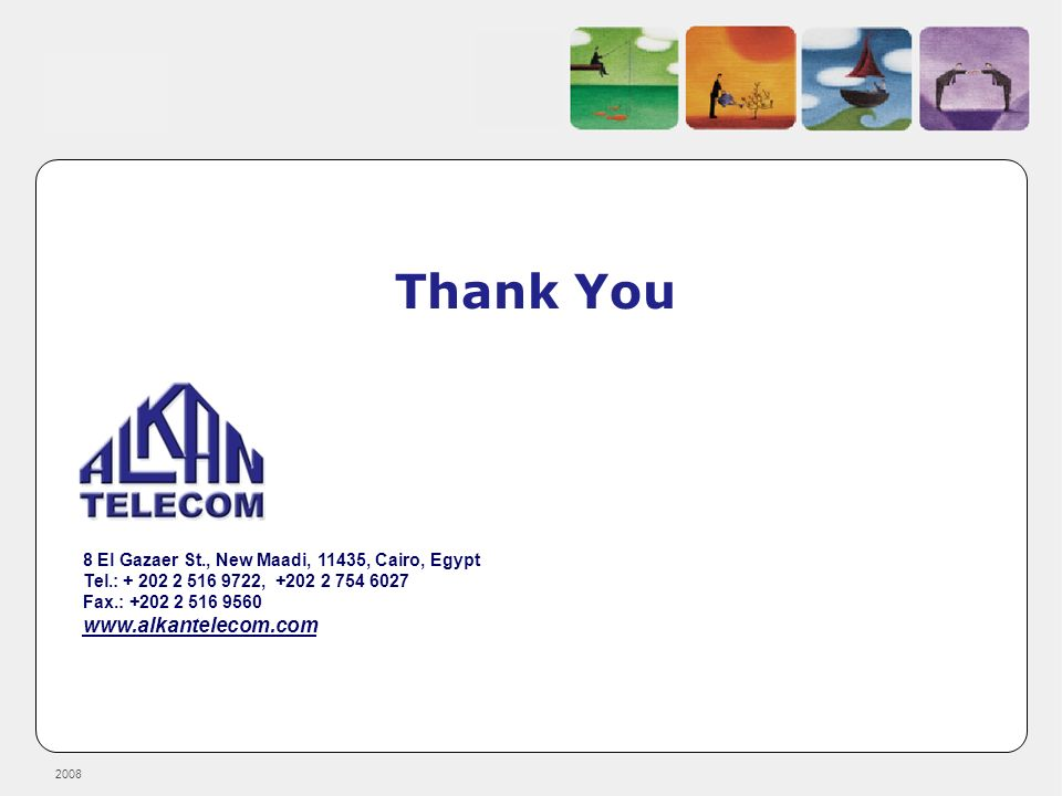 Thank You www.alkantelecom.com
