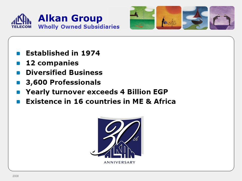 Alkan Group Wholly Owned Subsidiaries