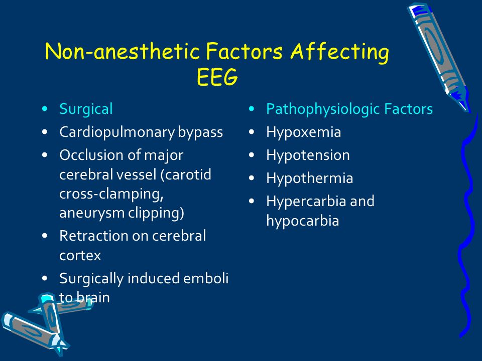 Non-anesthetic Factors Affecting EEG