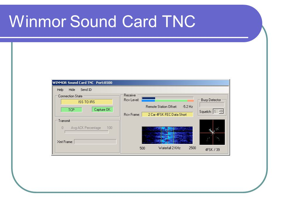 Winmor Sound Card TNC