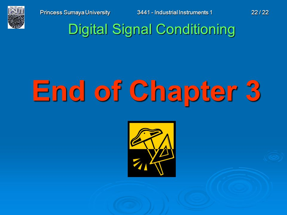 Digital Signal Conditioning