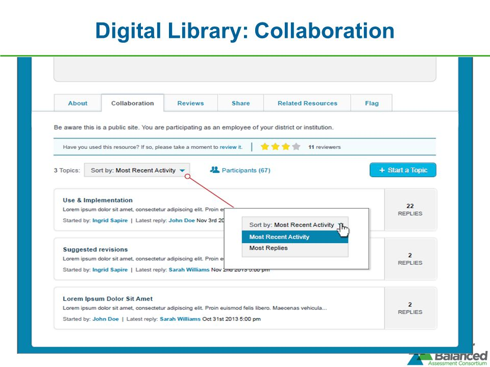 Digital Library: Collaboration