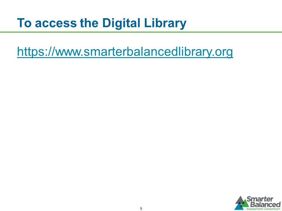 To access the Digital Library