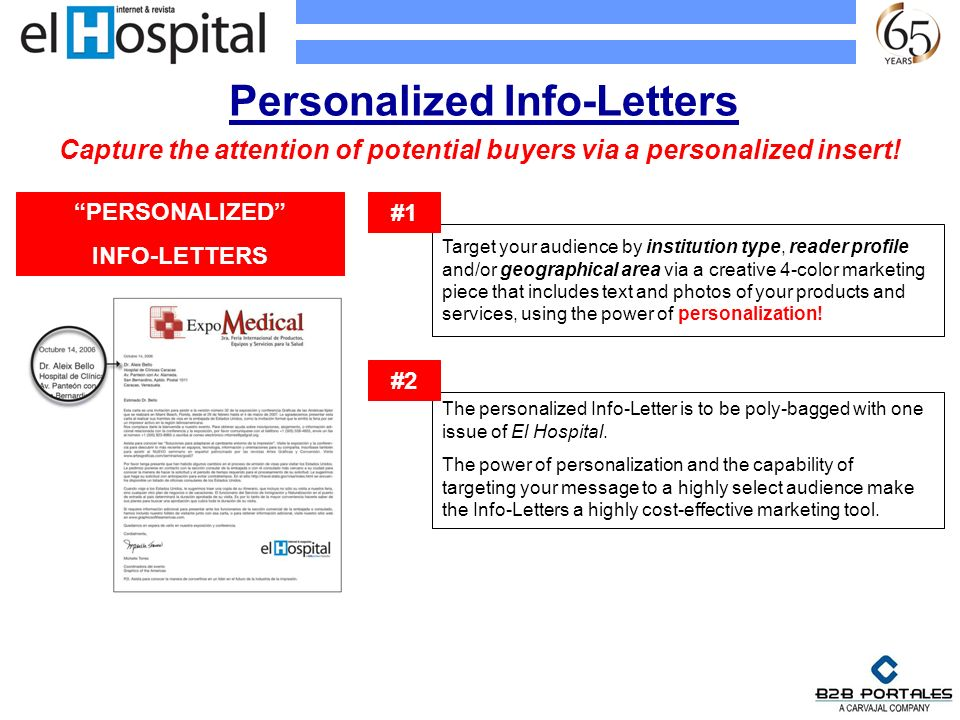 Personalized Info-Letters