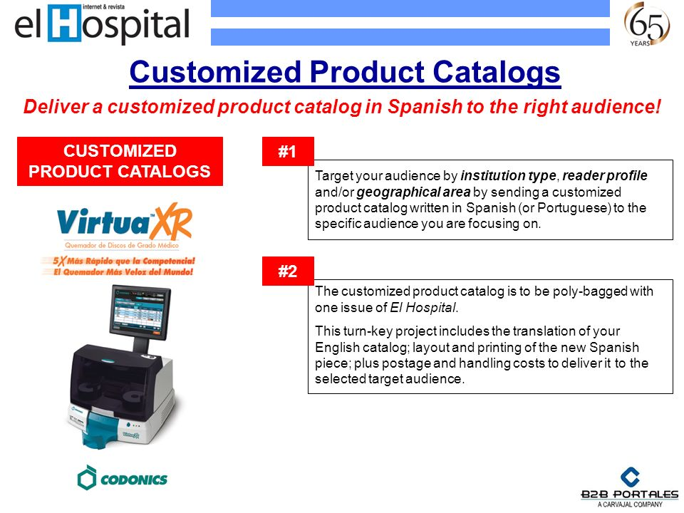 Customized Product Catalogs