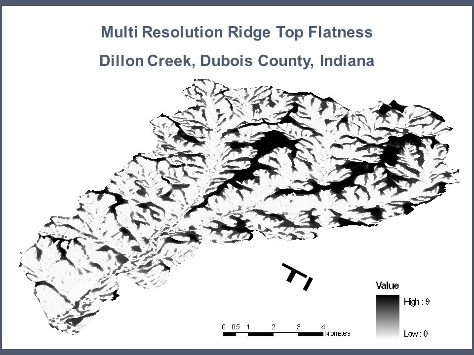 Multi Resolution Ridge Top Flatness