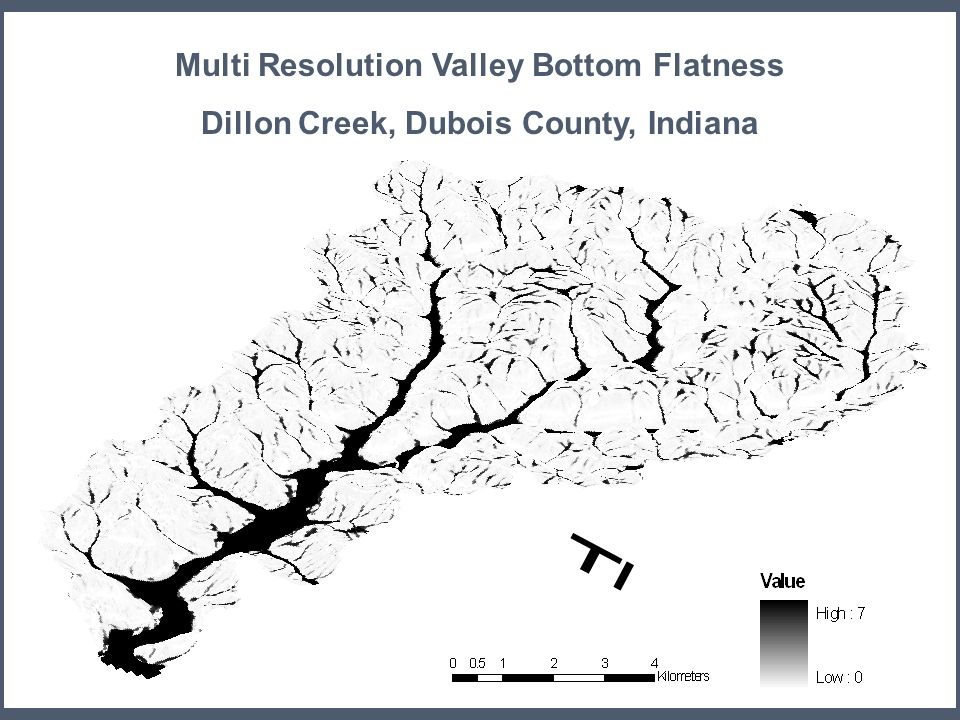 Multi Resolution Valley Bottom Flatness