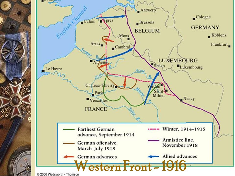 Western Front - 1916