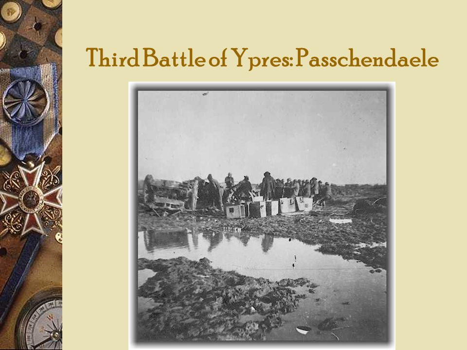 Third Battle of Ypres: Passchendaele