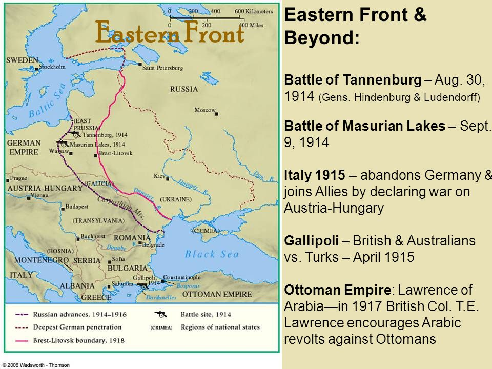 Eastern Front Eastern Front & Beyond: