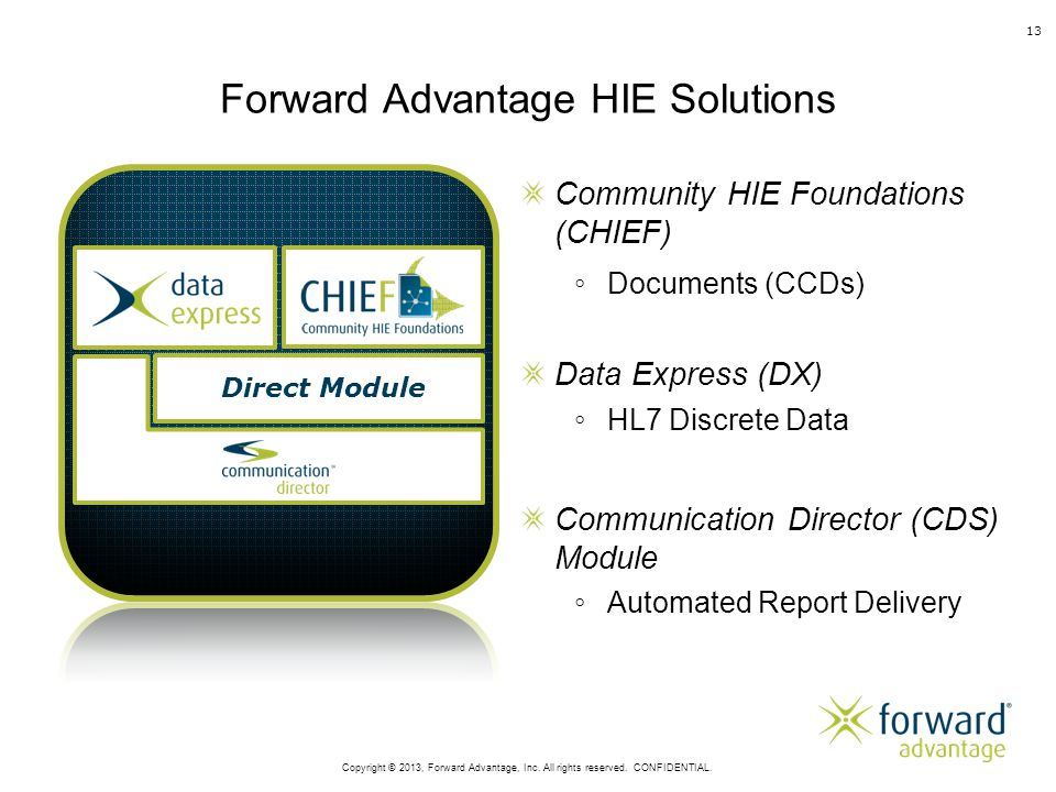 Forward Advantage HIE Solutions