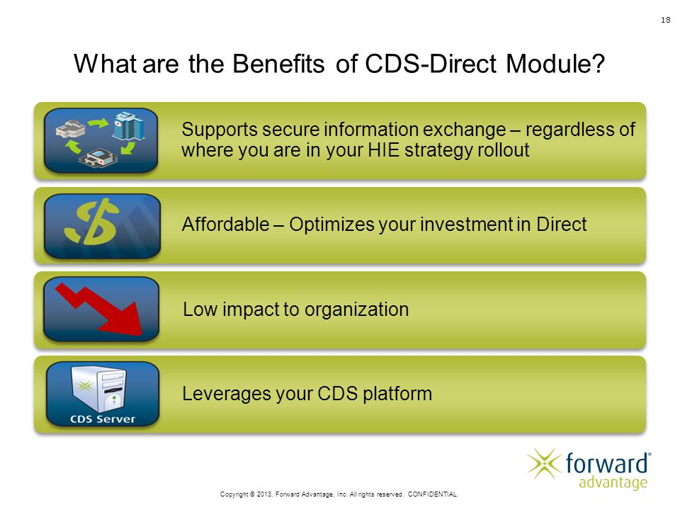 What are the Benefits of CDS-Direct Module