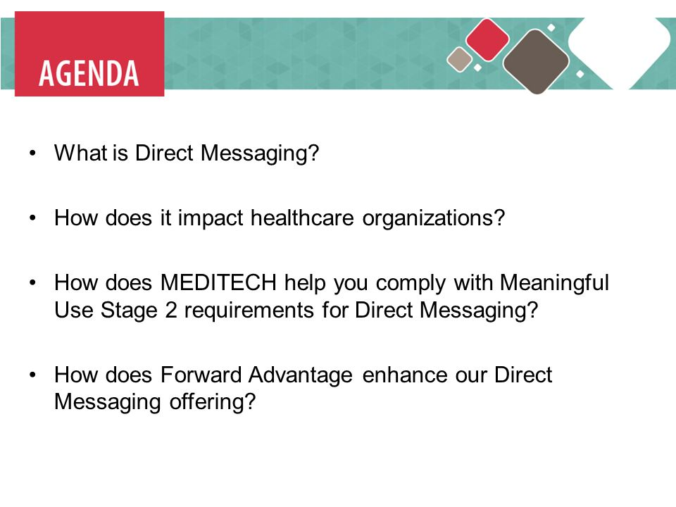 What is Direct Messaging How does it impact healthcare organizations