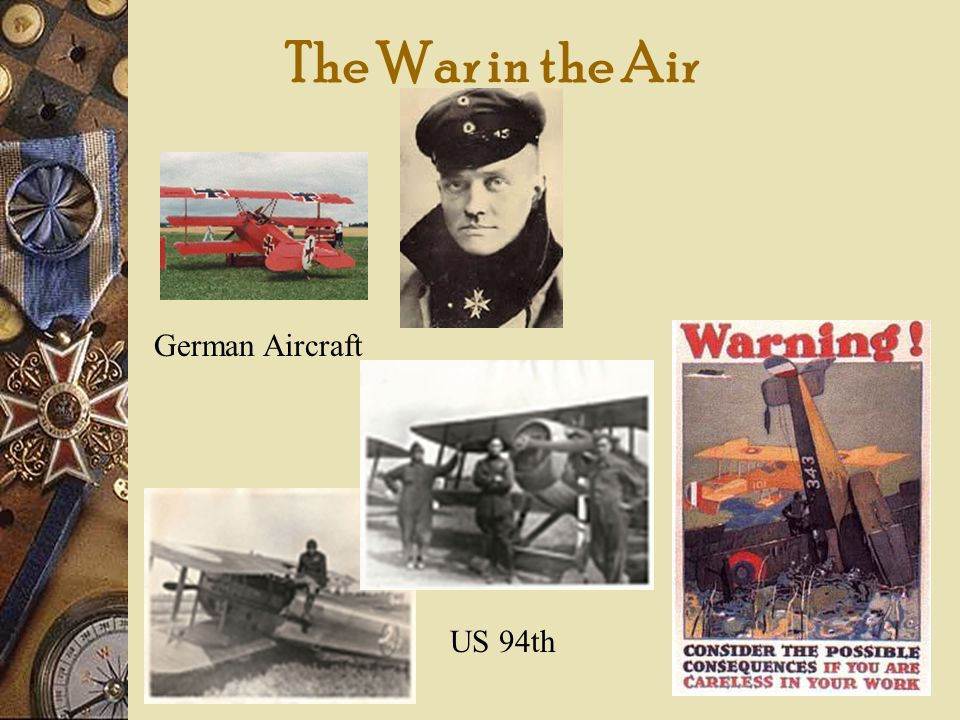 The War in the Air German Aircraft US 94th