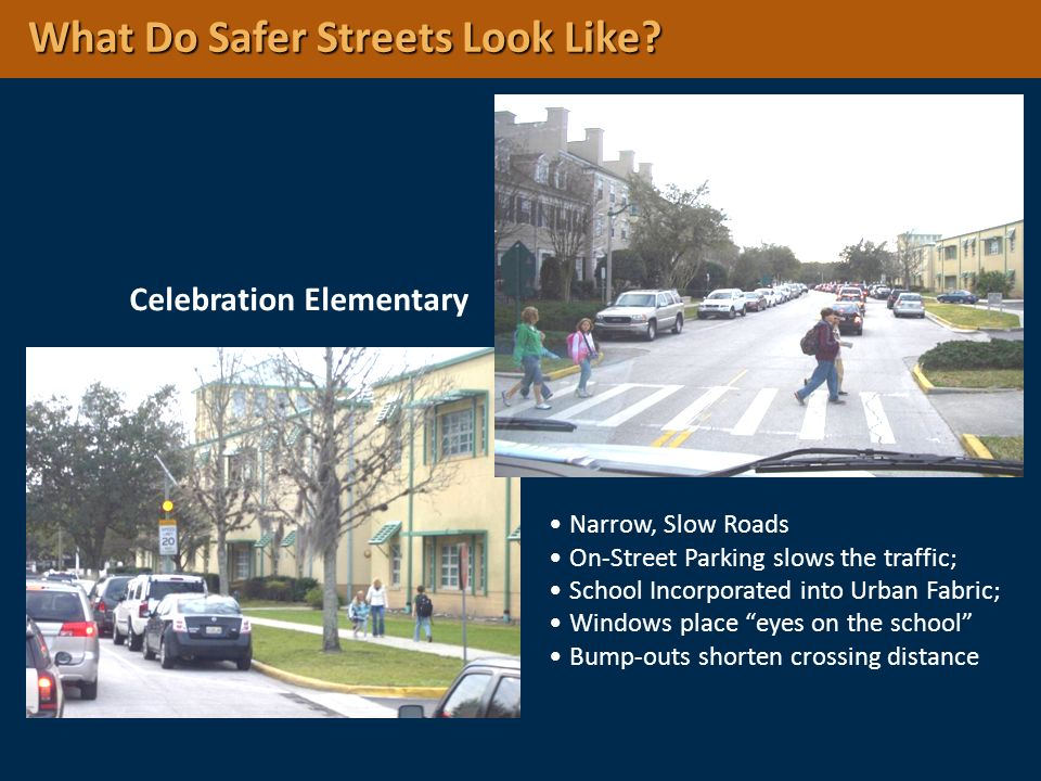 What Do Safer Streets Look Like