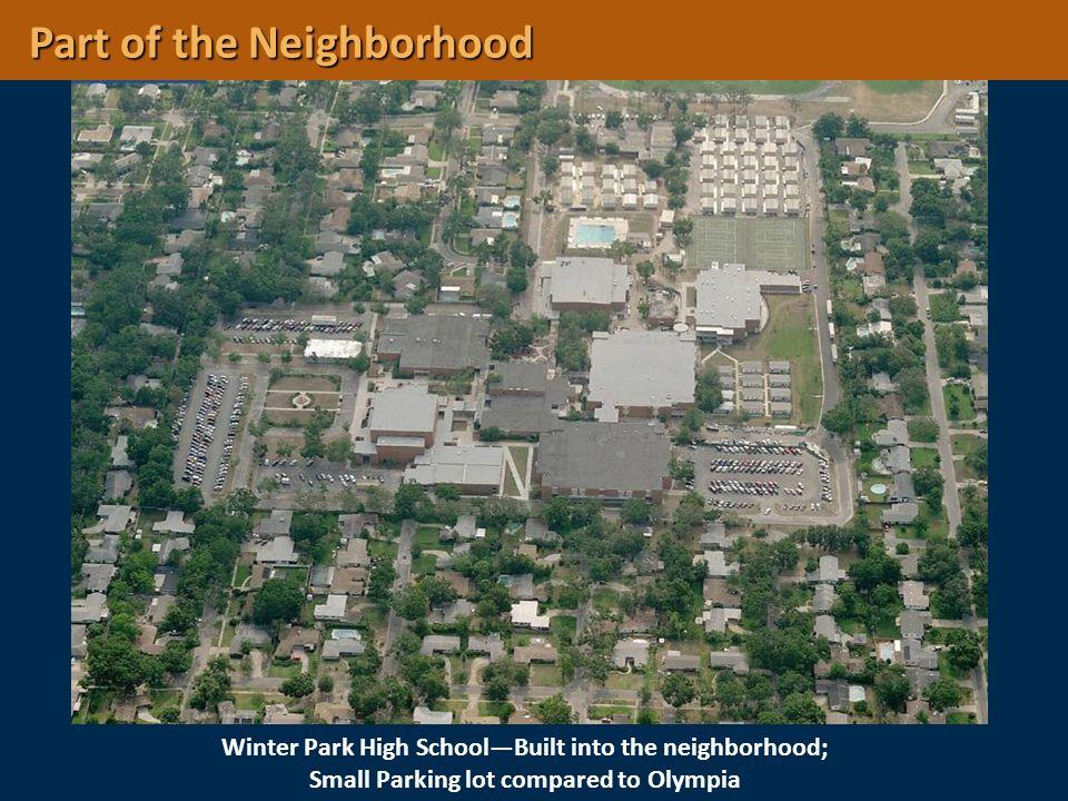 Part of the Neighborhood