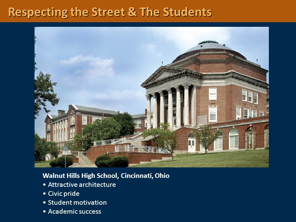 Respecting the Street & The Students