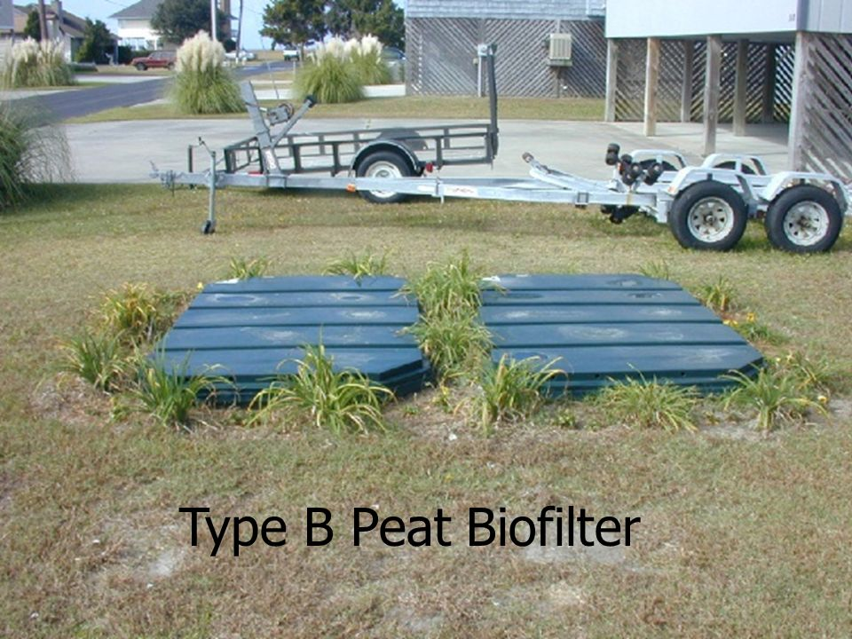 Peat System Type B – Note Flush With Ground