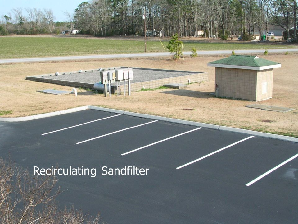 Recirculating Sandfilters