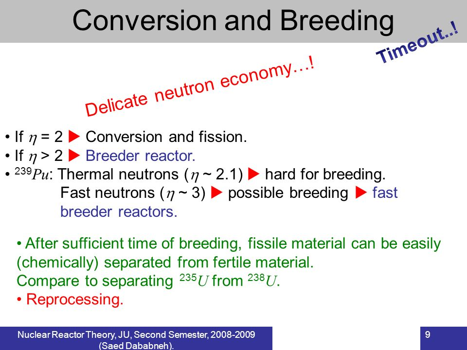 Conversion and Breeding