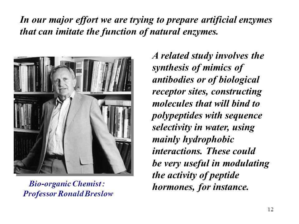 Professor Ronald Breslow