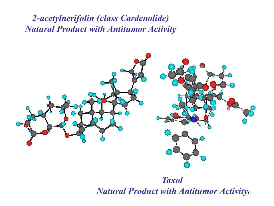 2-acetylnerifolin (class Cardenolide)
