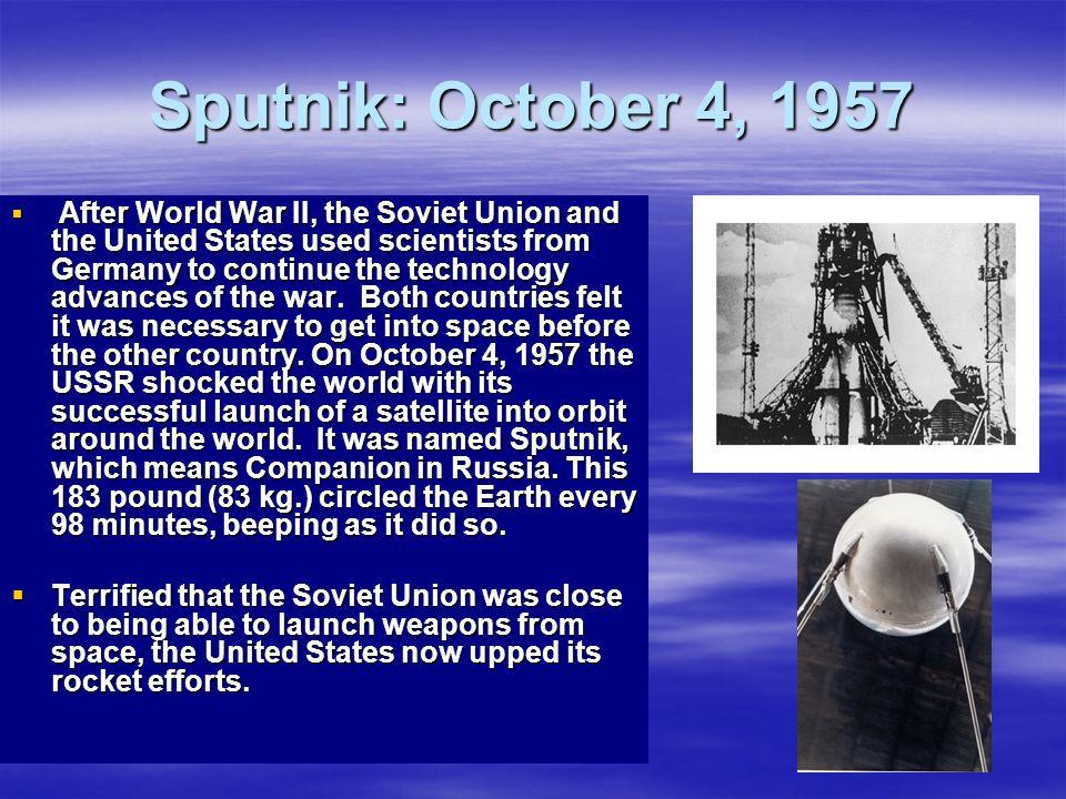 Sputnik: October 4, 1957