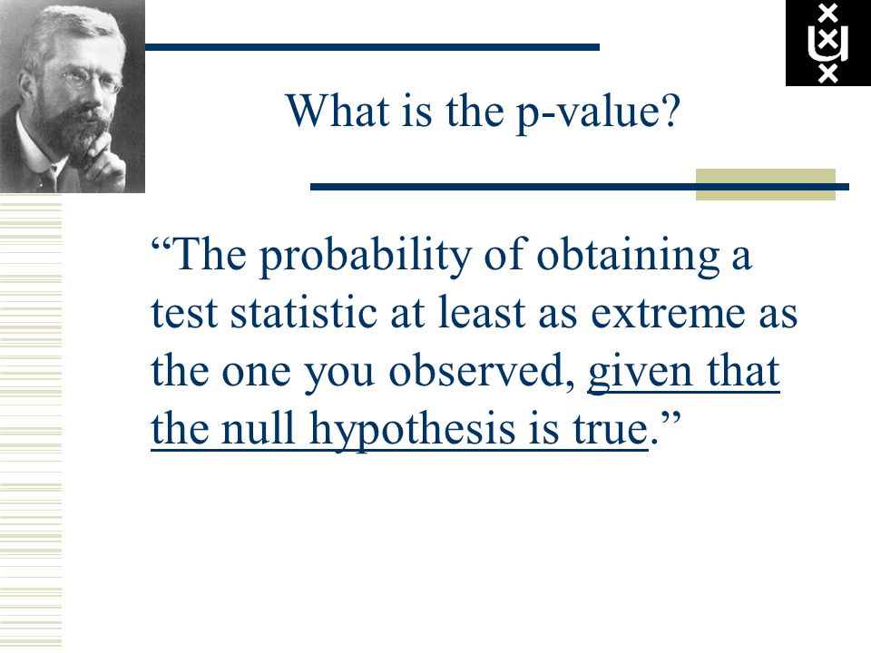 What is the p-value