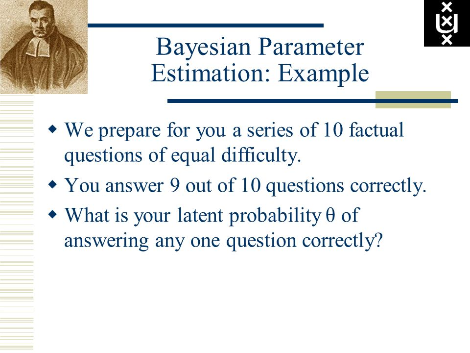 Bayesian Parameter Estimation: Example