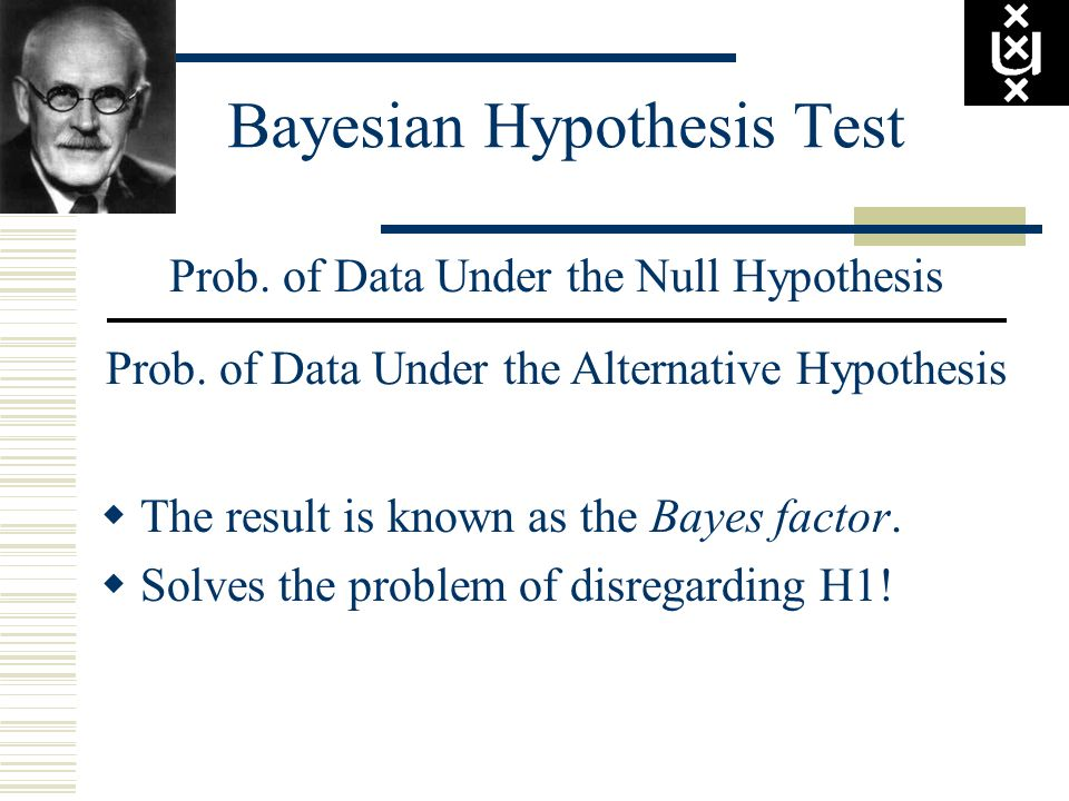Bayesian Hypothesis Test