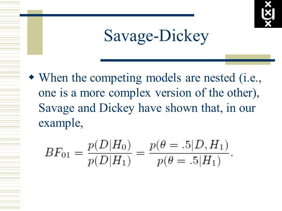 Savage-Dickey