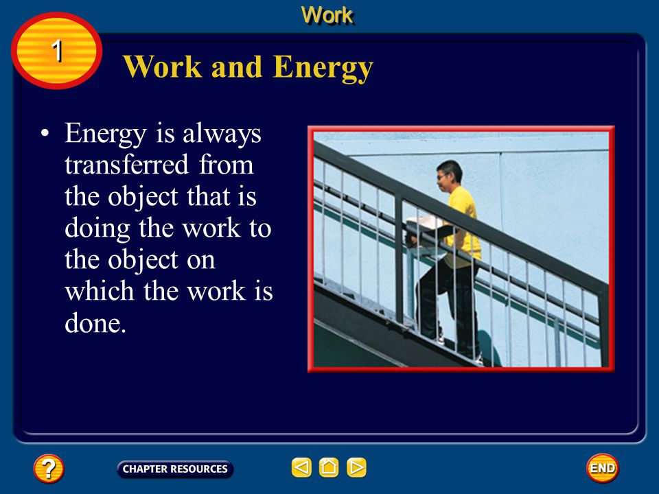 Work 1. Work and Energy.