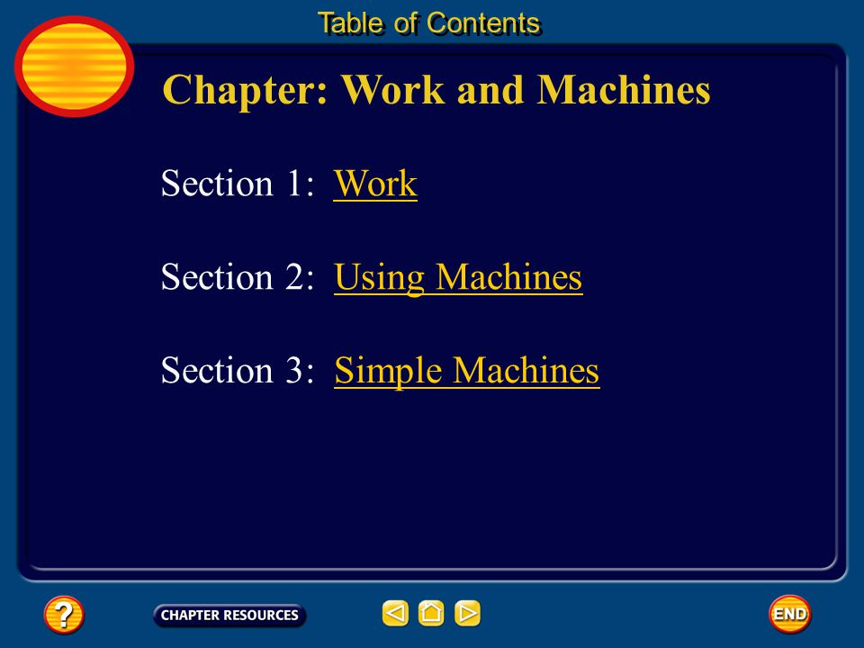 Chapter: Work and Machines