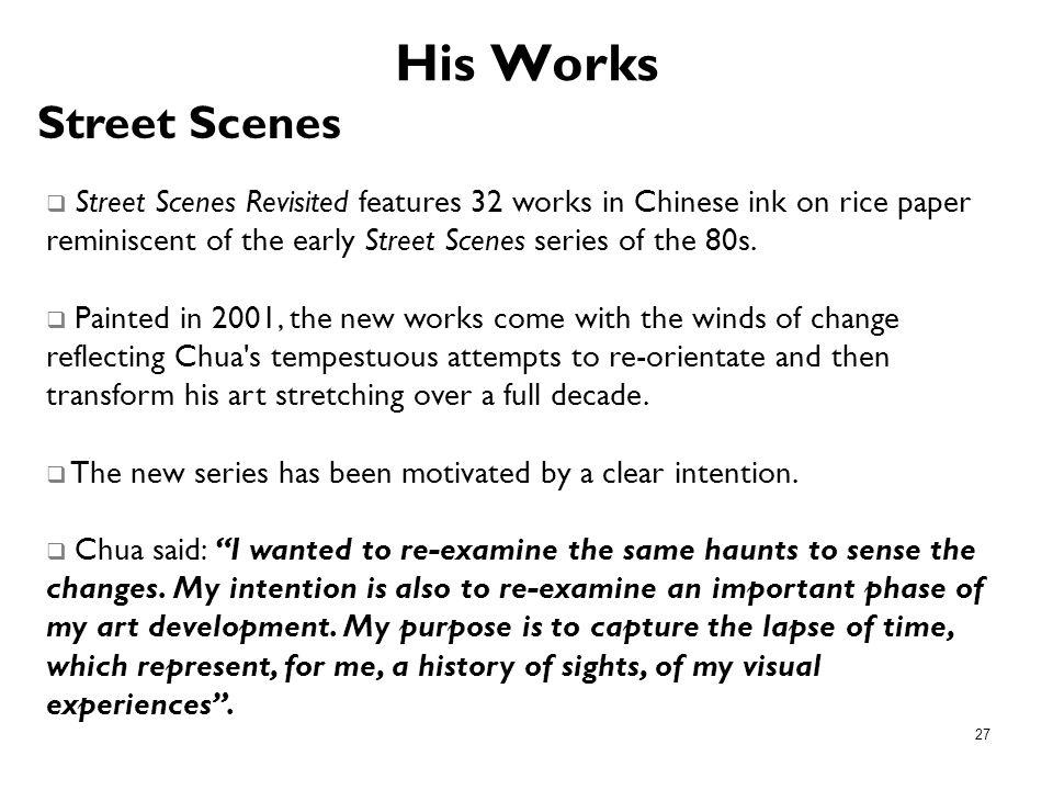 His Works Street Scenes