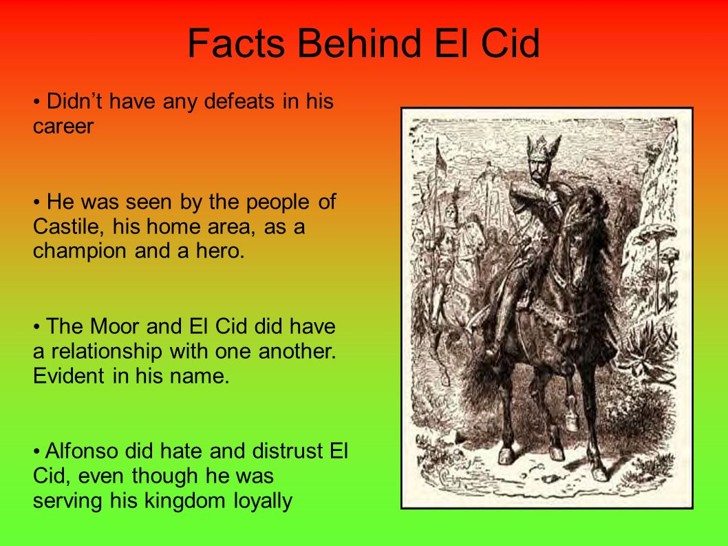 Facts Behind El Cid Didn't have any defeats in his career