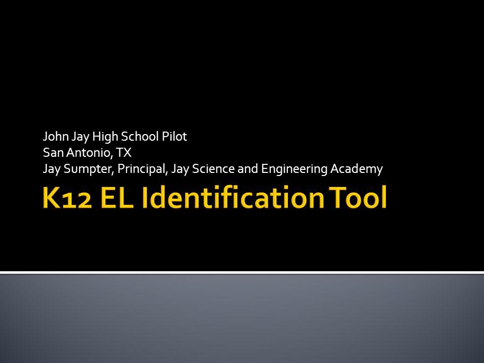K12 EL Identification Tool